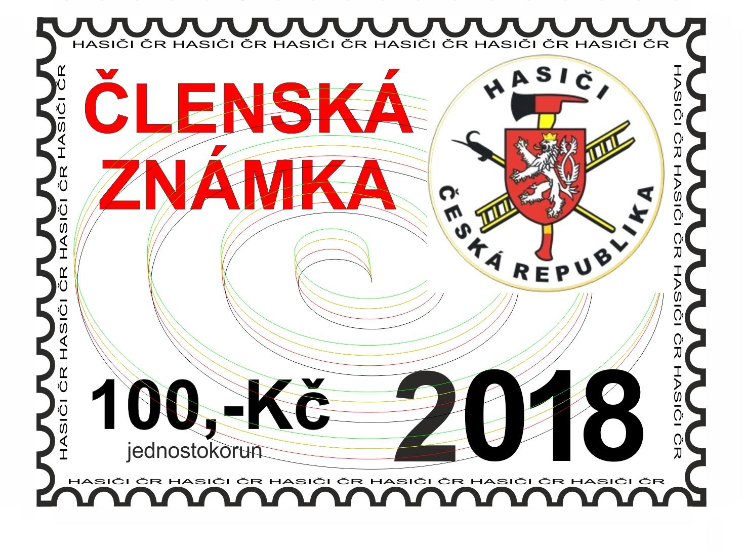 členská známka 2018
