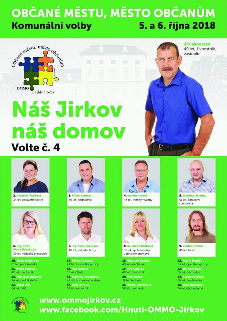 kandidátka OMMO Jirkov č. 4