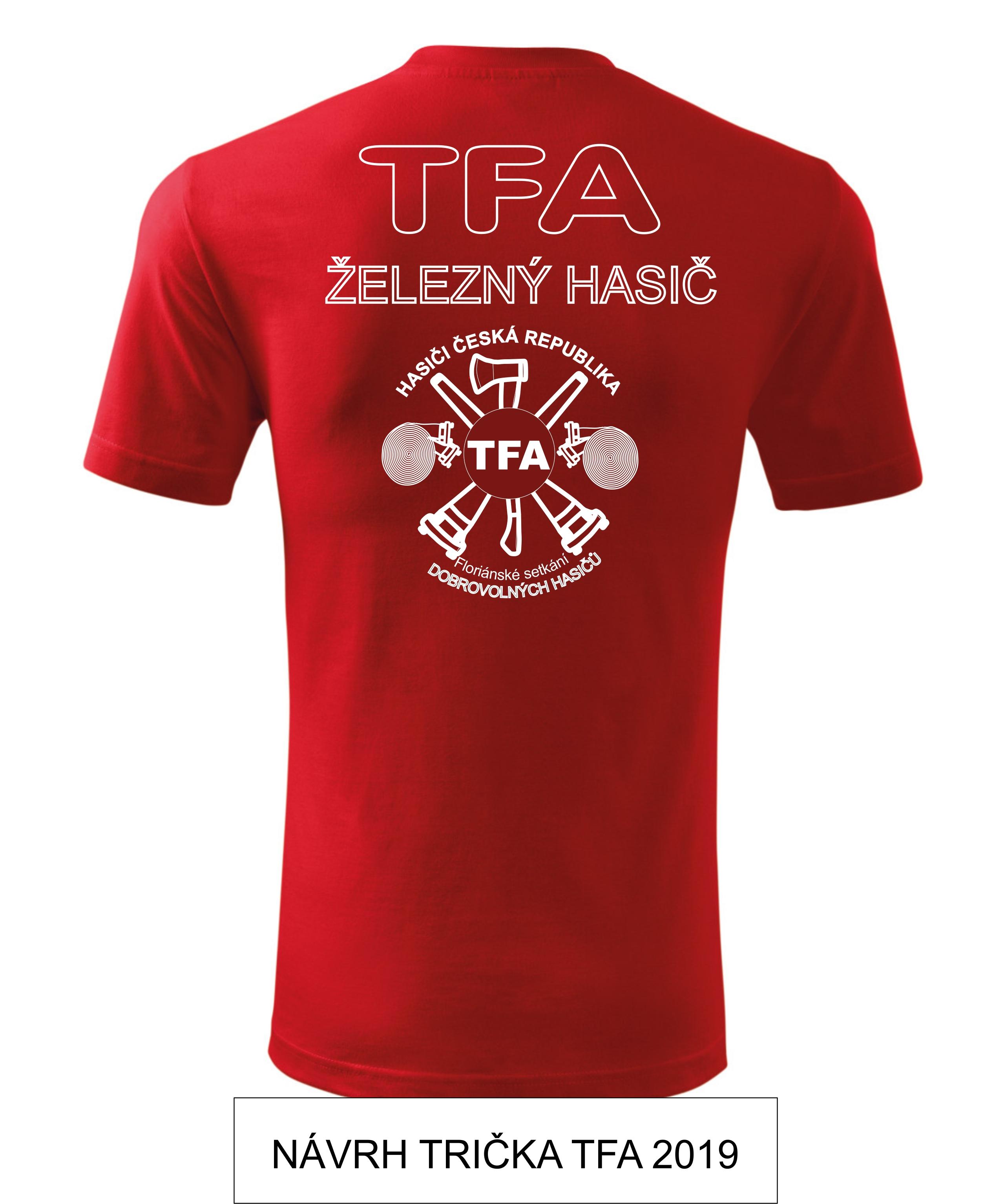 triko TFA 2019 záda